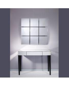 Miroir Console Gently Klein meubel Miroir + noir 110 X 44