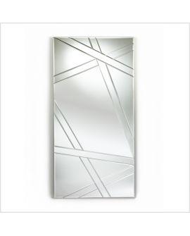 Miroir encadré Nest Rectangle Miroir biseauté 82 X 160