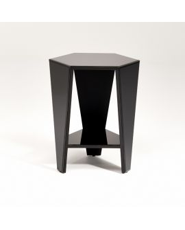 Miroir Tables gigogne Smart Black Klein meubel Noir 53 X 65