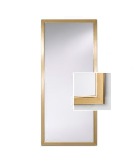Miroir Salle de bain Bremen Gold XL Rectangle Or 80,5 X 178