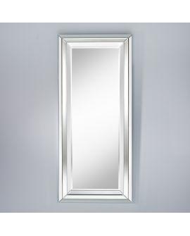 Miroir encadré Bright L Rectangle Miroir biseauté 77 X 169