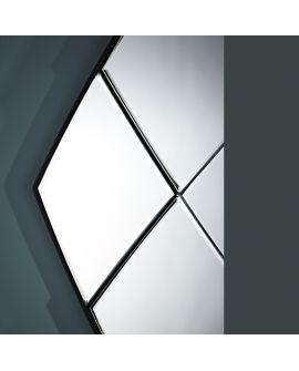Miroir encadré Distine Modèle irrégulier Miroir sur support 135 X 107