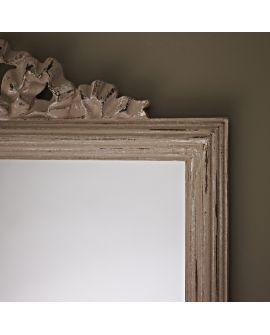 Miroir encadré Homy Beige Rectangle Beige 42 X 64