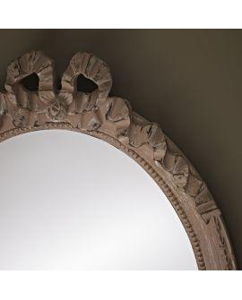 Miroir encadré Cosy Beige Ovaal Beige 37 X 52