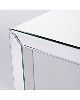Miroir Tables gigogne Box Mirror S Klein meubel Miroir biseauté 55 X 57
