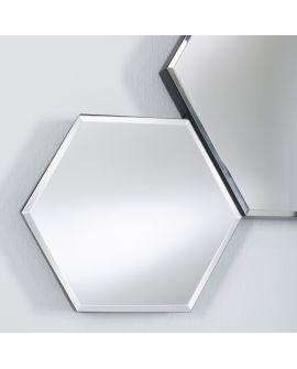 Miroir encadré Honey Modèle irrégulier Noir 86 X 45
