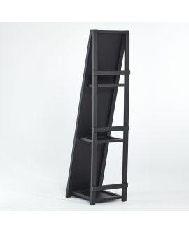 Miroir Psyché Shelfie Klein meubel Noir+miroir clair 46 X 171