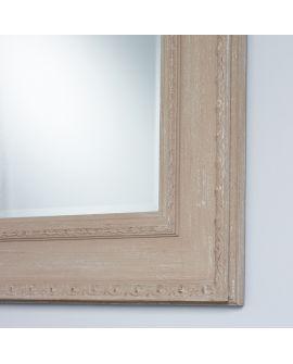 Miroir encadré Marco Beige Rectangle Beige 82 X 102