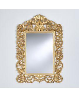 Miroir encadré Ornato Gold Modèle irrégulier Or usé 162 X 118