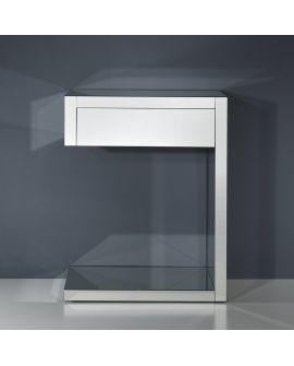 Miroir Console Domino Console Table Klein meubel Miroir non biseauté 69 X 67