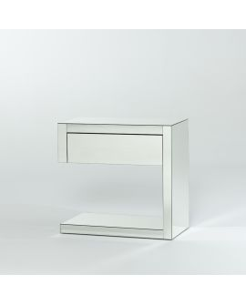 Miroir Console Domino Night Left Klein meubel Miroir 6 X 66