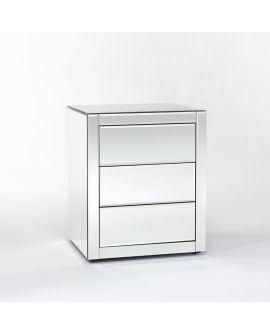 Miroir Tables gigogne Caro Klein meubel Miroir biseauté 59 X 68