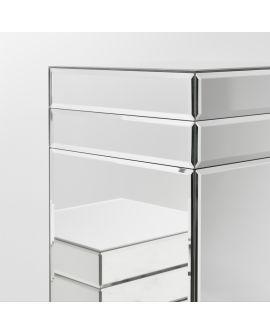 Miroir Colonne Ribbon L Klein meubel Miroir biseauté 39 X 128
