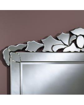 Miroir encadré Fuoco Modèle irrégulier Miroir biseauté 114 X 90