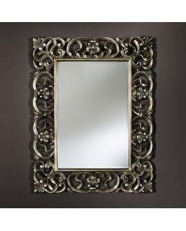 Miroir encadré Baroque Rectangle 104 X 133