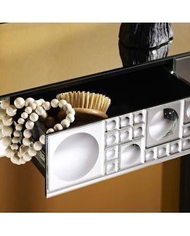 Miroir Console Lolli table Klein meubel Miroir biseauté 109 X 42