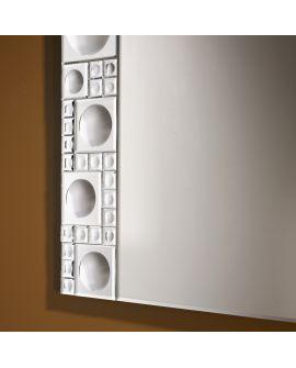 Miroir encadré Lolli Rectangle Miroir biseauté 55 X 89