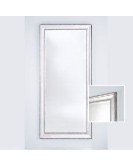 Miroir encadré Lorca Silver XL Rectangle Couleur argent 0 X 0