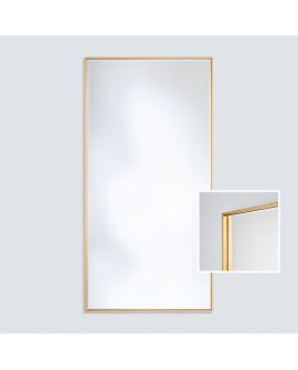 Miroir encadré Soho Gold XL Rectangle Couleur or 0 X 0
