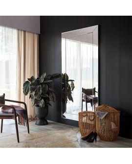 Miroir Salle de bain Basta Black XL Rectangle Noir 111 X 210