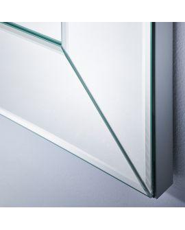 Miroir Salle de bain Basta Alu Hall Rectangle Couleur alu 69 X 190