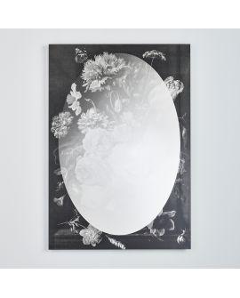 Miroir Salle de bain Flores Rectangle Noir 0 X 0