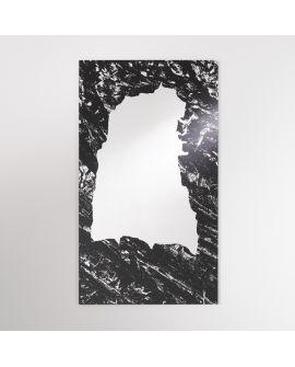 Miroir Salle de bain Spilia Rectangle Noir 80 X 135