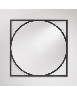 Miroir Salle de bain Circo Carré Miroir+verre clair 100 X 102,5