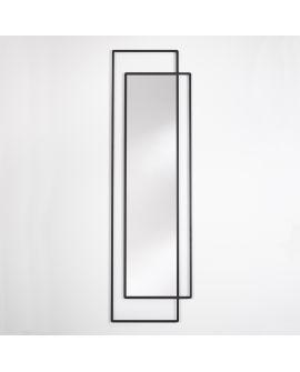 Miroir Salle de bain Bordo Rectangle Noir 60 X 181