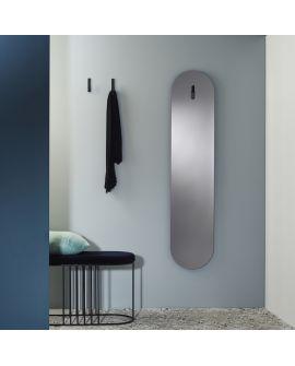 Miroir Salle de bain Lola Grey Ovaal Miroir + noir 8 X 43,5