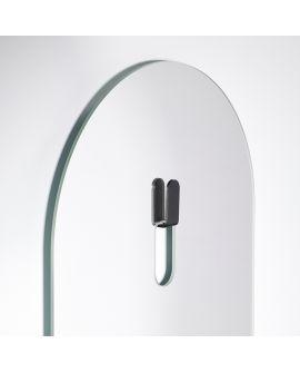 Miroir Salle de bain Lola Clear Ovaal Miroir + noir 43,5 X 170
