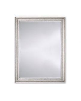 Miroir Salle de bain Metz Silver Rect Rectangle Argent usé 95 X 126