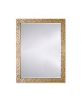 Miroir Salle de bain Shanghai Gold Rect. Rectangle Or poli 95 X 125