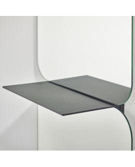 Miroir Salle de bain Taille Rectangle Miroir + noir 56,5 X 190