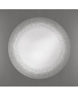 Miroir Salle de bain Fade Ronde Miroir+verre clair 90 X 91