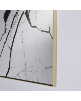Miroir Salle de bain Marble Rectangle Bronze 89 X 128
