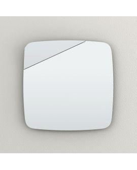 Miroir encadré Tilt Modèle irrégulier 60 X 60