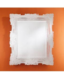 Miroir encadré Versailles Rectangle Miroir + Transparant 114 X 136