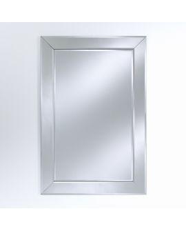 Miroir encadré Basta Rect. Rectangle Miroir biseauté 86 X 127