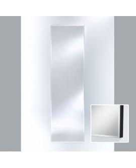 Miroir Salle de bain Slimflex Black Hall Rectangle Noir 60 X 182,5