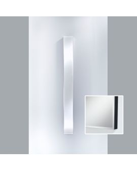 Miroir Salle de bain Slimflex Black Rectangle Noir 24 X 160