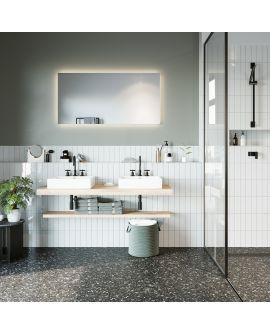 Miroir Salle de bain B.Ambi.1 plus Carré 0 X 0