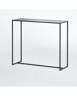 Miroir Console Mesa console Klein meubel Noir 102 X 87