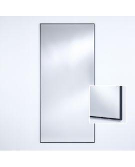 Miroir Salle de bain Lucka Black XL Rectangle Noir 82,5 X 178