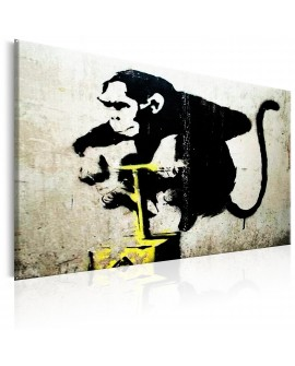 Tableau - Monkey Detonator by Banksy