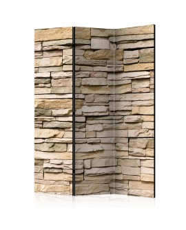 Paravent 3 volets - Decorative Stone [Room Dividers] 135x172