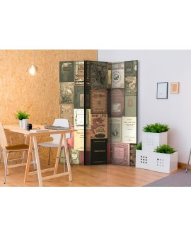 Paravent 3 volets - Books of Paradise [Room Dividers] 135x172