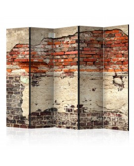 Paravent 5 volets - City History II [Room Dividers] 225x172