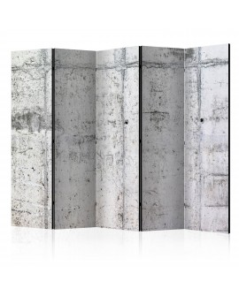 Paravent 5 volets - Concrete Wall II [Room Dividers] 225x172