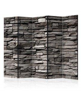Paravent 5 volets - Stony Facade II [Room Dividers] 225x172